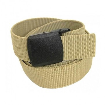 "Bulldog 1-1/2"" Metal Free Pivot Buckle Solid Color Web Belt"