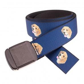 Hiker Beagle Pattern Belt