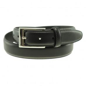 Black Stapleton Dress Belt