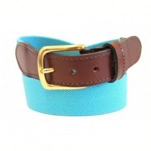 Light Blue Stewart Elastic Stretch Belt