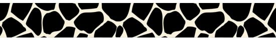 GirafeeSpotsBlackWhite_407BKWH - +$3.00