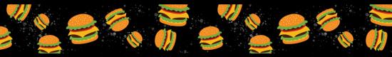 Hamburgers Black #444BK - +$3.00