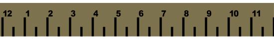 Ruler Khaki #449KH - +$3.00